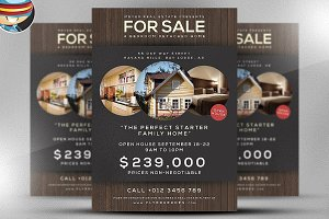 Family Home Flyer Template
