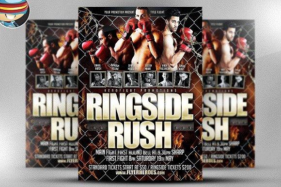 Ringside Rush Flyer Template