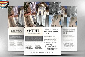 Lornfield Flyer Template