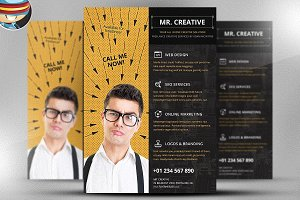Mr. Creative Flyer Template