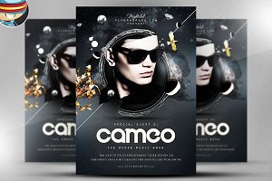 Cameo PSD Flyer Template