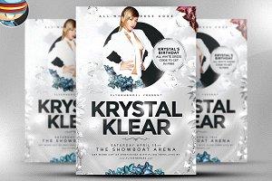 Krystal Klear Flyer Template