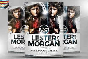 Morgan Flyer Template