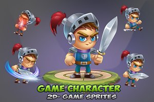 knight Game Character Spirtes 01