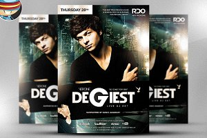 Degiest PSD Flyer Template