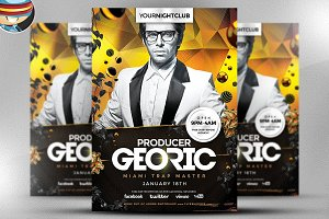 Georic PSD Flyer Template