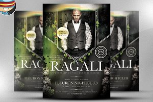 Ragali PSD Flyer Template