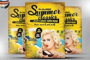Summer Classics Flyer Template