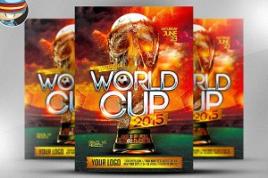 World Cup Flyer Template 1