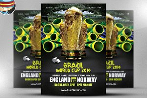 World Cup Flyer Template 3