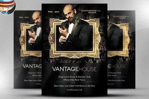 Vantage House Flyer Template