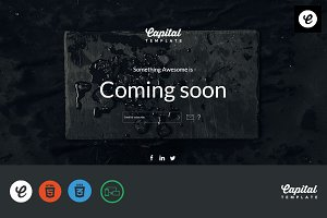 Sable - Coming Soon Template