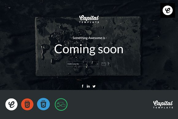 Sable Coming Soon Template