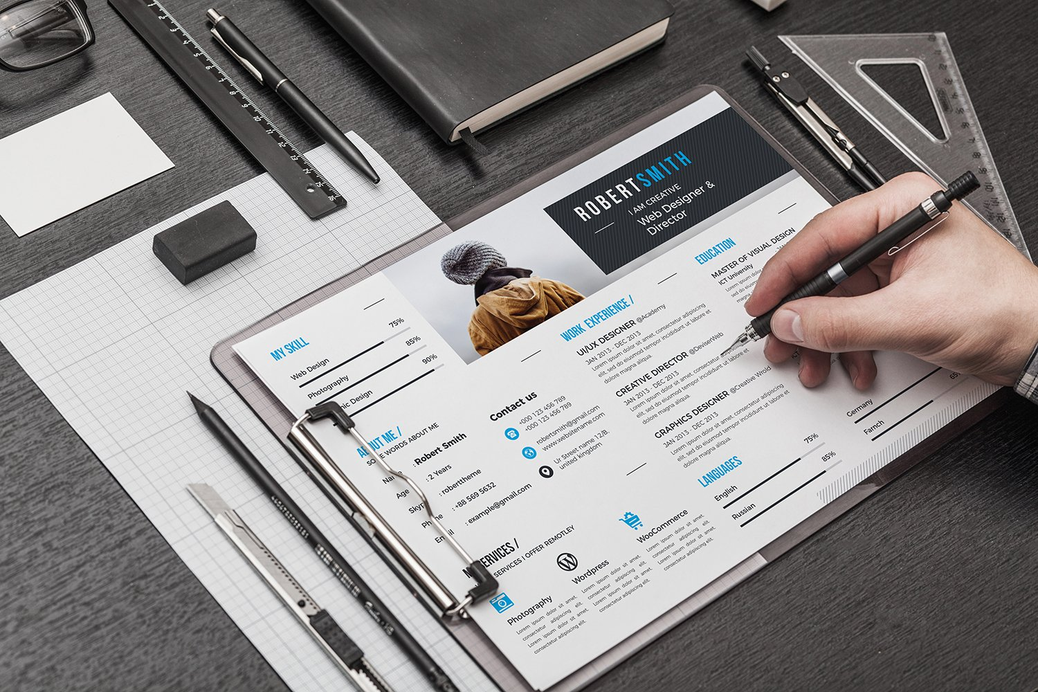 Beautiful Resume Booklet Free Download Ideas - Entry Level Resume ...