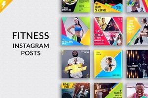 Fitness Social Media Kit