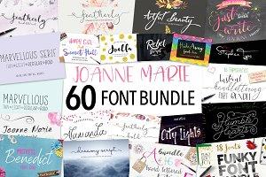 Font Bundle by Joanne Marie