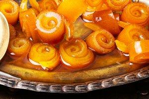 Jam from orange