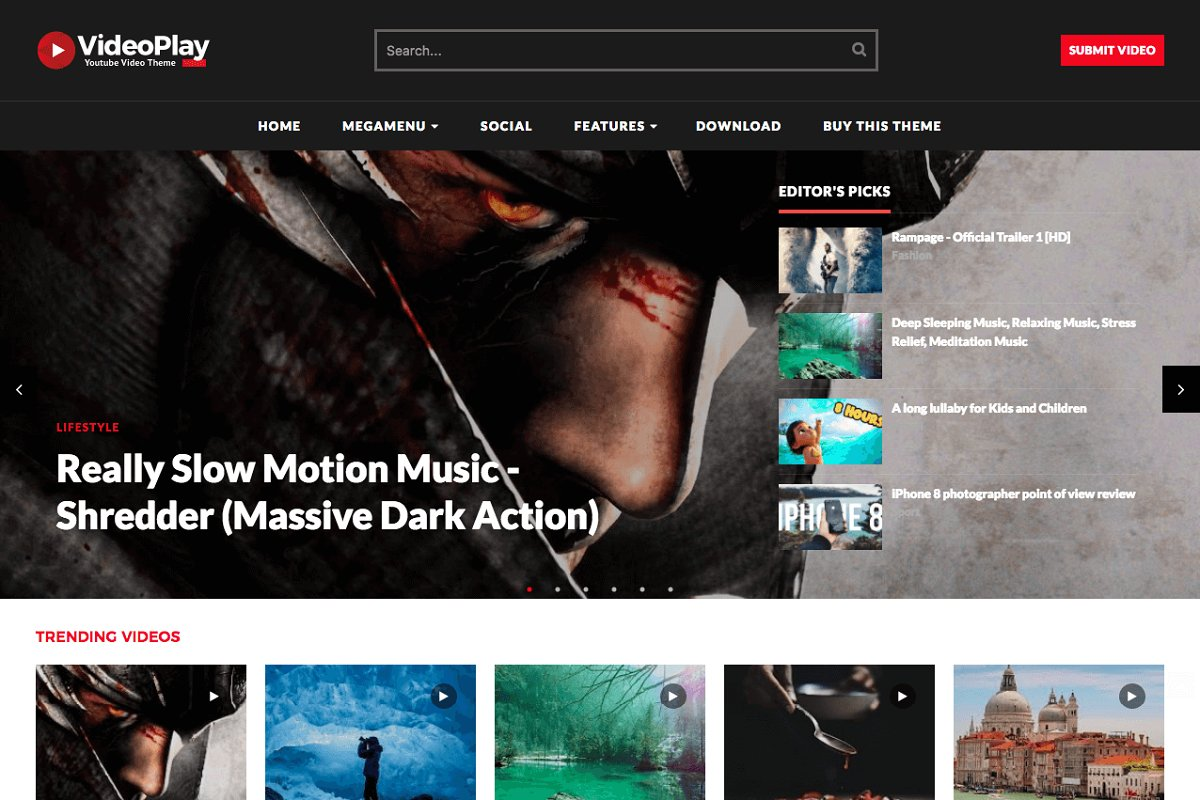 Friday Photoshop Blogging Other Pebble >> Videoplay Video Blogger Template