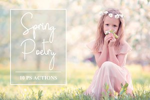 Spring Poetry - 10 PS Actions