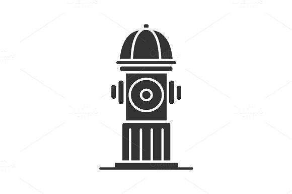 Hydrant Glyph Icon