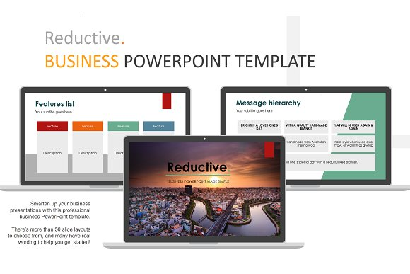 Reductive Business PowerPoint