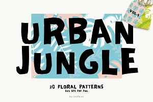 Seamless Patterns Urban Jungle Vol 4