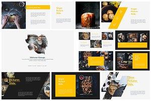 Food Creative Keynote Template