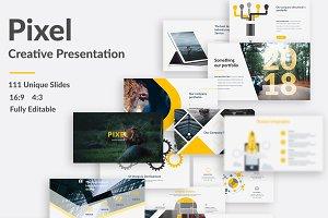 Pixel Creative Keynote Template