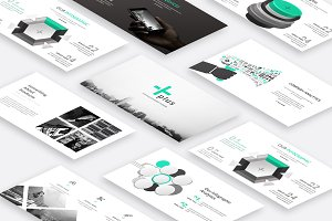Plus Creative Keynote Template