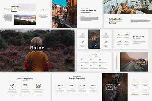 Rhine Creative Keynote Template