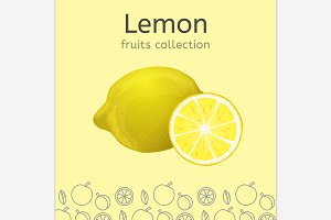 Vector Lemon Imaage