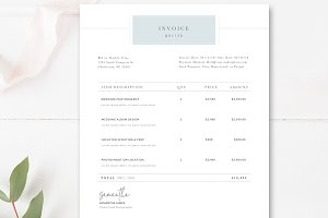 Invoice Receipt for Photographers