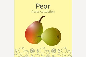 Vector Pear Image
