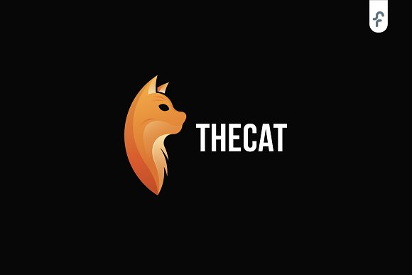 The Cat Logo Template