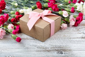 Lovely Gift with Carnation Flowers
