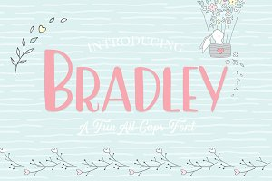 Bradley - An All Caps Font