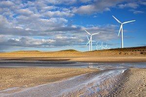 Windmills on the Maasvlakte