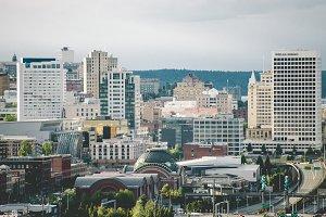Downtown Tacoma Skyline