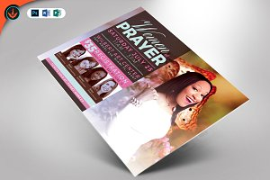 Women of Prayer Flyer Template