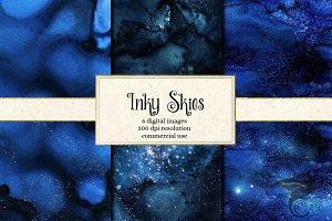 Inky Sky Textures
