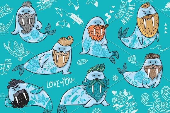 Bearded Walruses