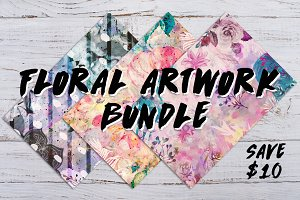 Floral Artwork Bundle