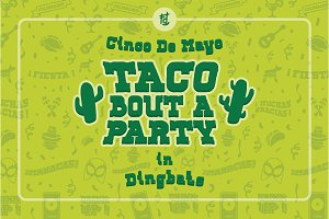 Taco Bout A Party Dingbats