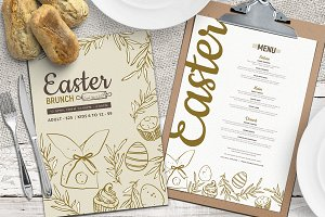 Easter Menu Templates Vol.3