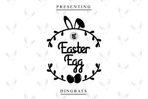 Easter Egg Dingbats
