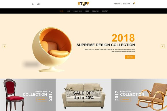 Stuff Furniture Shopify Theme