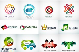 Company logo vector collection