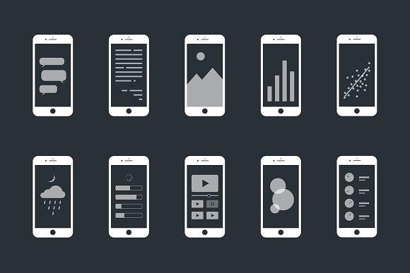 Modern Phone Mockups
