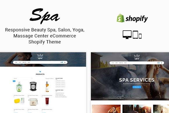 Spa Responsive Shopify Theme