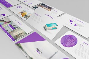 Travel Agency Keynote Template